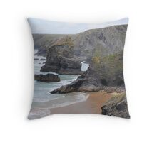 Rugged Coastline Throw Pillow