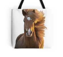 Horse with floaty mane Tote Bag