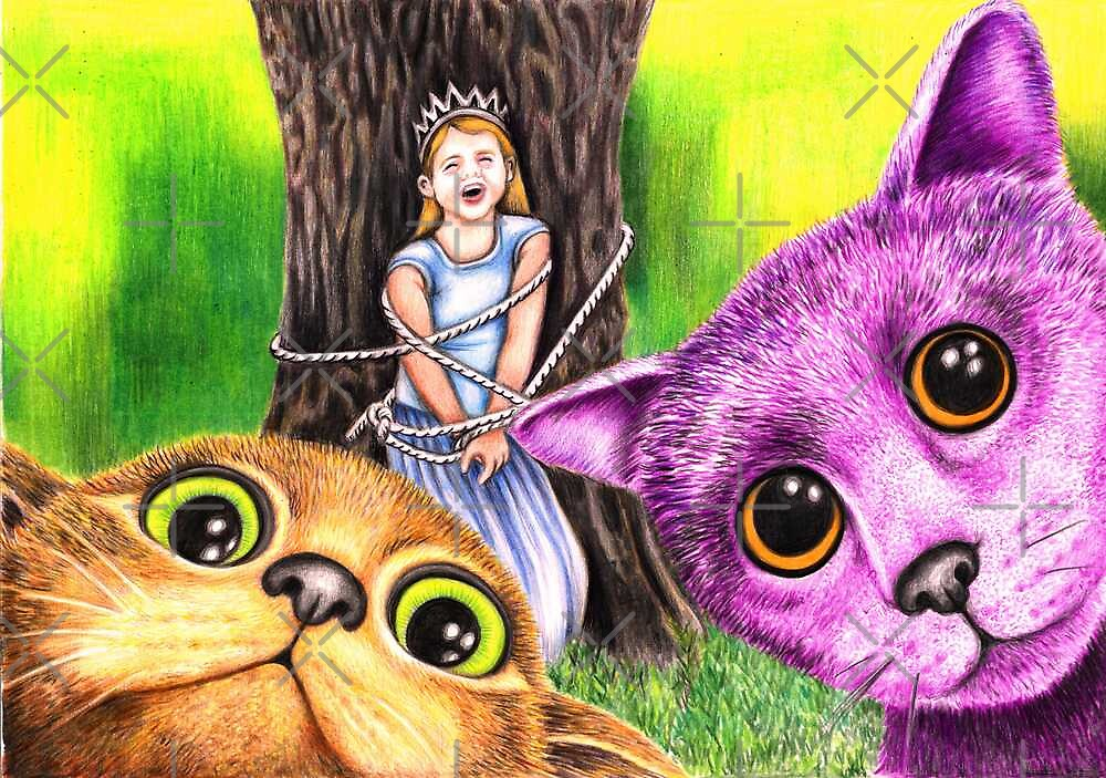 """Pay the ransom, or the Princess gets it!"" 344 views as at 5th Nov 2011 by Margaret Sanderson"