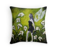 LET'S GET LOST IN THE GARDEN OF DREAMS Throw Pillow