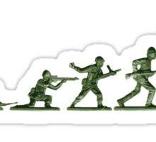 Plastic Army Sticker
