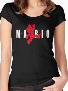 AIR MARIO Women's Fitted Scoop T-Shirt