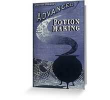 Libatius Borage's Advanced Potion Making  Greeting Card