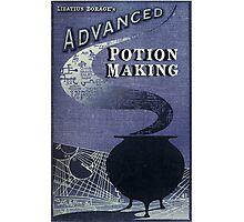 Libatius Borage's Advanced Potion Making  Photographic Print