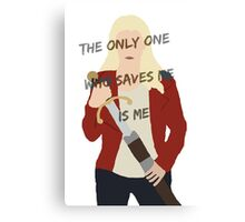 Once Upon A Time Emma Swan Canvas Print