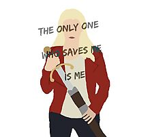 Once Upon A Time Emma Swan Photographic Print