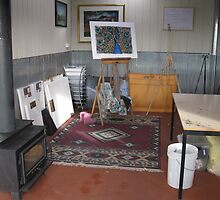 My studio.... by Sally Ford
