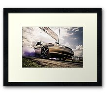 EX5LTR UBC Burnout Launch Framed Print