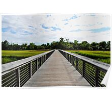 Wide Angled Beauty Poster