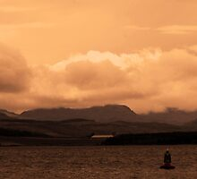 View from Greenock, Glasgow by ElsT