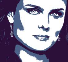 Bones - Temperance Brennan in blue Sticker