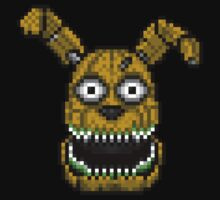 Five Nights at Freddy's 4 - PlushTrap - Pixel art Kids Clothes