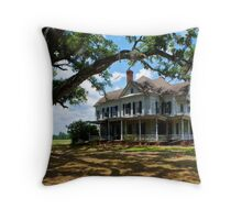 Shade Of The Past Throw Pillow