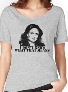 Bones - Temperance Brennan in black Women's Relaxed Fit T-Shirt