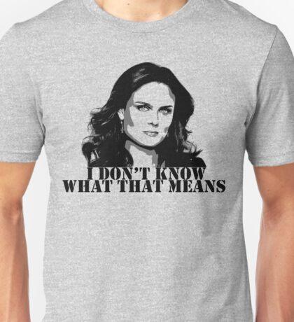 Bones - Temperance Brennan in black Unisex T-Shirt