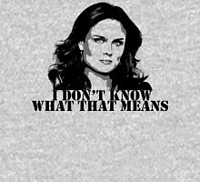Bones - Temperance Brennan in black Unisex T-Shirt