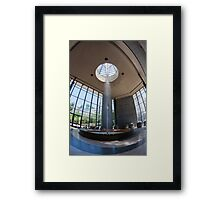 A geyser in Karlovy Vary, Czech Republic Framed Print
