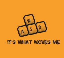 WASD - It's what moves me by brzt