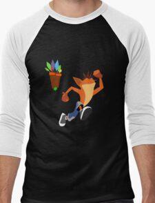 Crash Bandicoot Men's Baseball ¾ T-Shirt