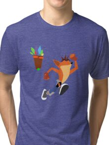 Crash Bandicoot Tri-blend T-Shirt