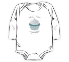 Nobody Hates Cupcakes [BLUE] One Piece - Long Sleeve