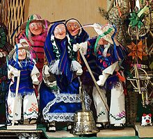 Old peoples' dance by Shirley  Poll