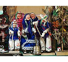 Old peoples' dance Photographic Print