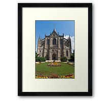 St. Barbara's Church, Kutná Hora, Czech Republic Framed Print