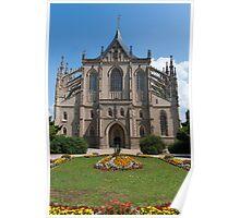 St. Barbara's Church, Kutná Hora, Czech Republic Poster