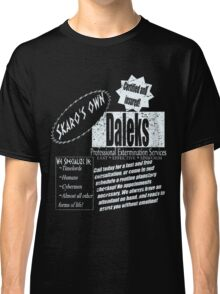 Dalek's Professional Services Classic T-Shirt