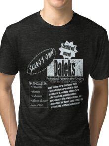 Dalek's Professional Services Tri-blend T-Shirt