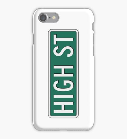 High Street iPhone Case/Skin