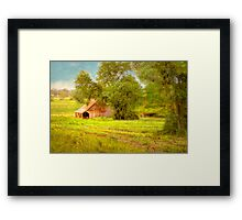 The Barn - Beerenberg, Hahndorf, The Adelaide Hills, SA Framed Print