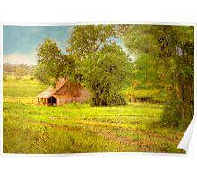 The Barn - Beerenberg, Hahndorf, The Adelaide Hills, SA Poster