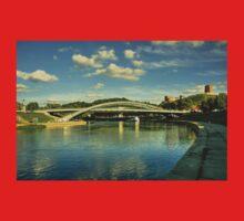 Vilnius Castle Bridge  Baby Tee