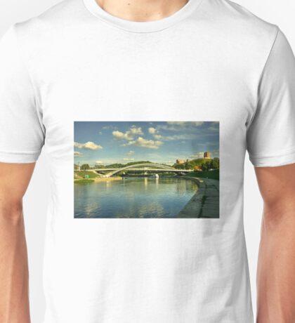 Vilnius Castle Bridge  Unisex T-Shirt