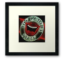 The Comedy Store. Framed Print