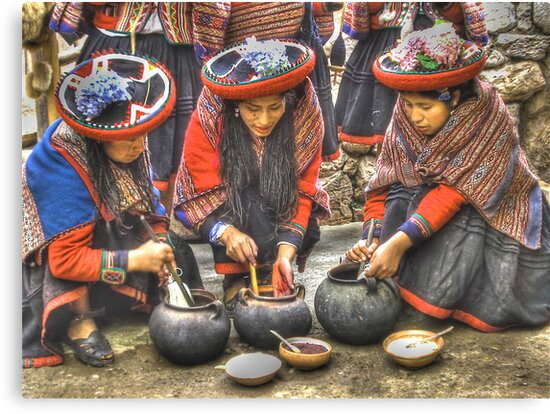 The Color Of Chinchero by Edith Reynolds