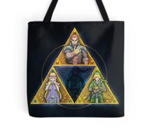 The Triforce... and a bit of darkness Tote Bag
