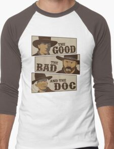 The Good, The Bad, And The Doc Men's Baseball ¾ T-Shirt