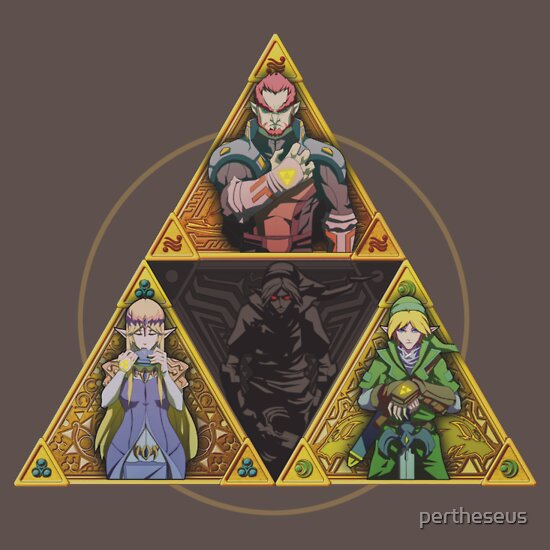 TShirtGifter presents: The Triforce... and a bit of darkness