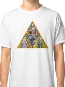 The Triforce... and a bit of darkness Classic T-Shirt