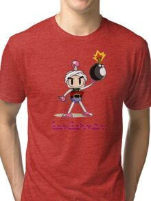 Osama Bin Bomberman Tri-blend T-Shirt
