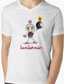 Osama Bin Bomberman Mens V-Neck T-Shirt