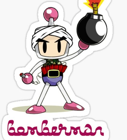 Osama Bin Bomberman Sticker