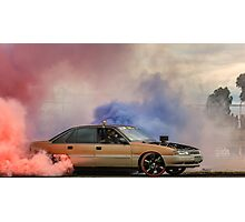 EX5LTR UBC Burnout Photographic Print