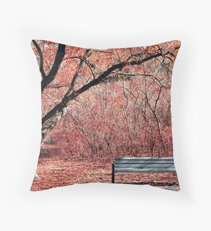 A break from it all. Throw Pillow