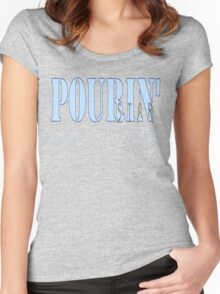 POURIN' STAR SALOON Women's Fitted Scoop T-Shirt