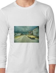 Yellow storm car  Long Sleeve T-Shirt