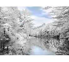 Winter at the Reservoir Photographic Print
